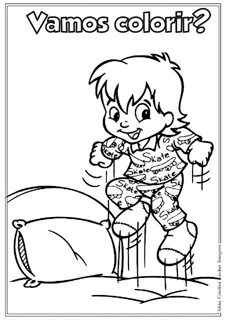 Desenho do Sítio do Picapau Amarelo, Dia do Livro Infantil para colorir