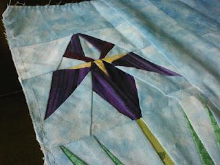 Iris Quilt Block Block Swap