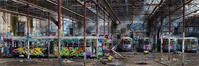 A Panorama of the Tram Sheds in Glebe