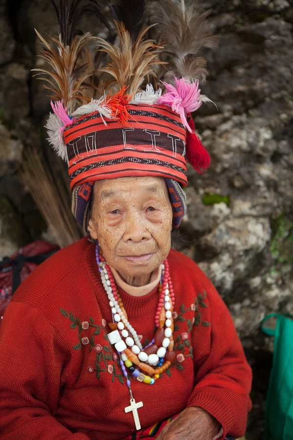 100 Year Old Filipina Woman