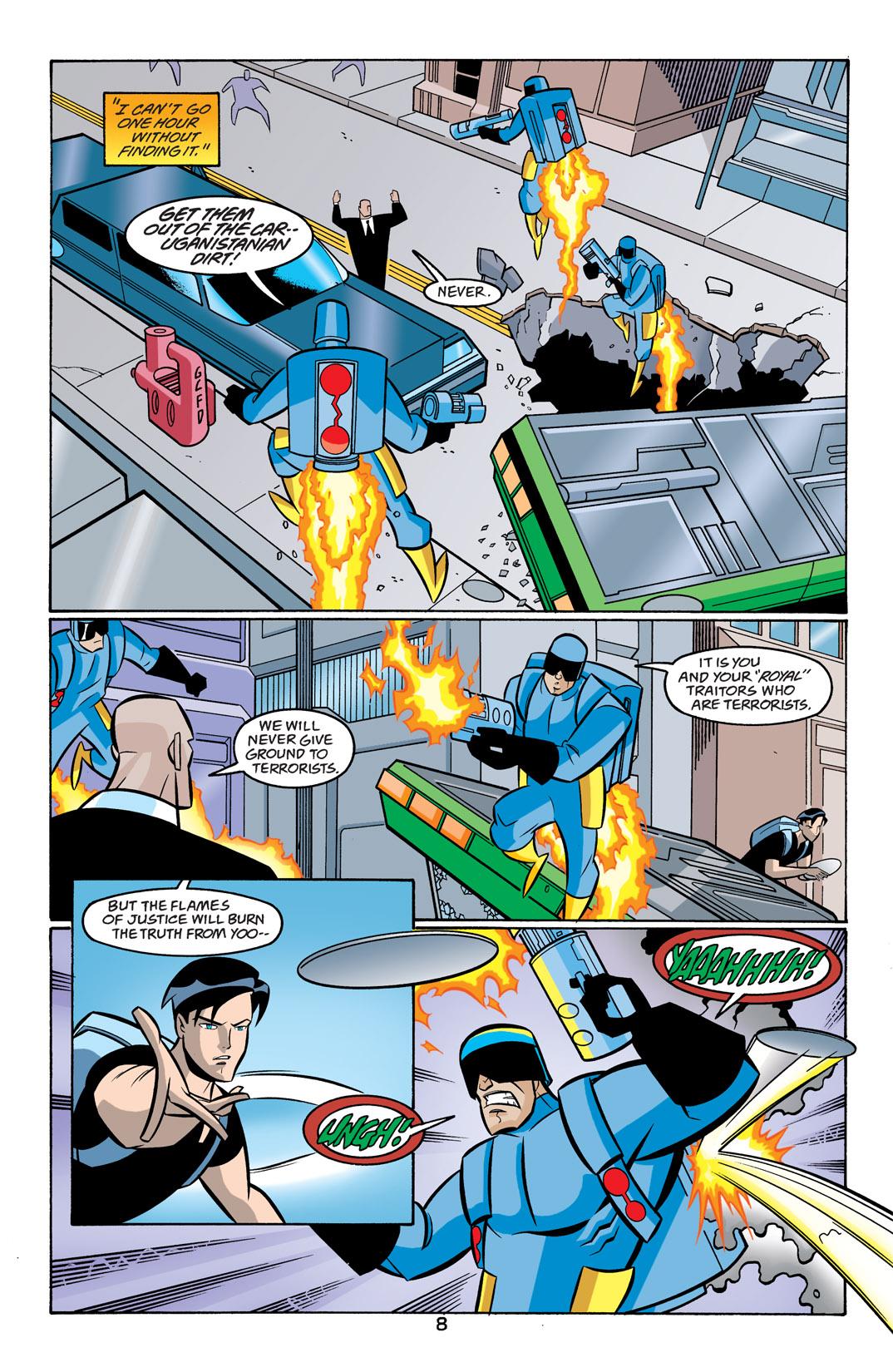 Batman Beyond [II] Issue #19 #19 - English 9