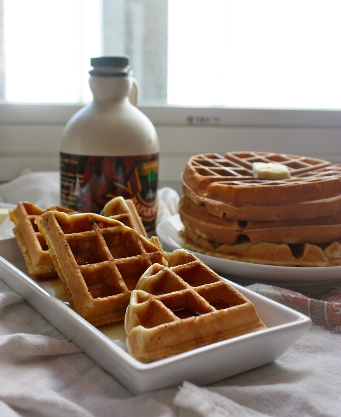 ... Aretha Frankensteins' (what a name!) Waffle's of Insane Greatness...