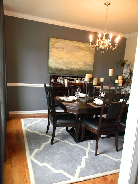 Seaside interiors stopping by the model home for Model home dining room