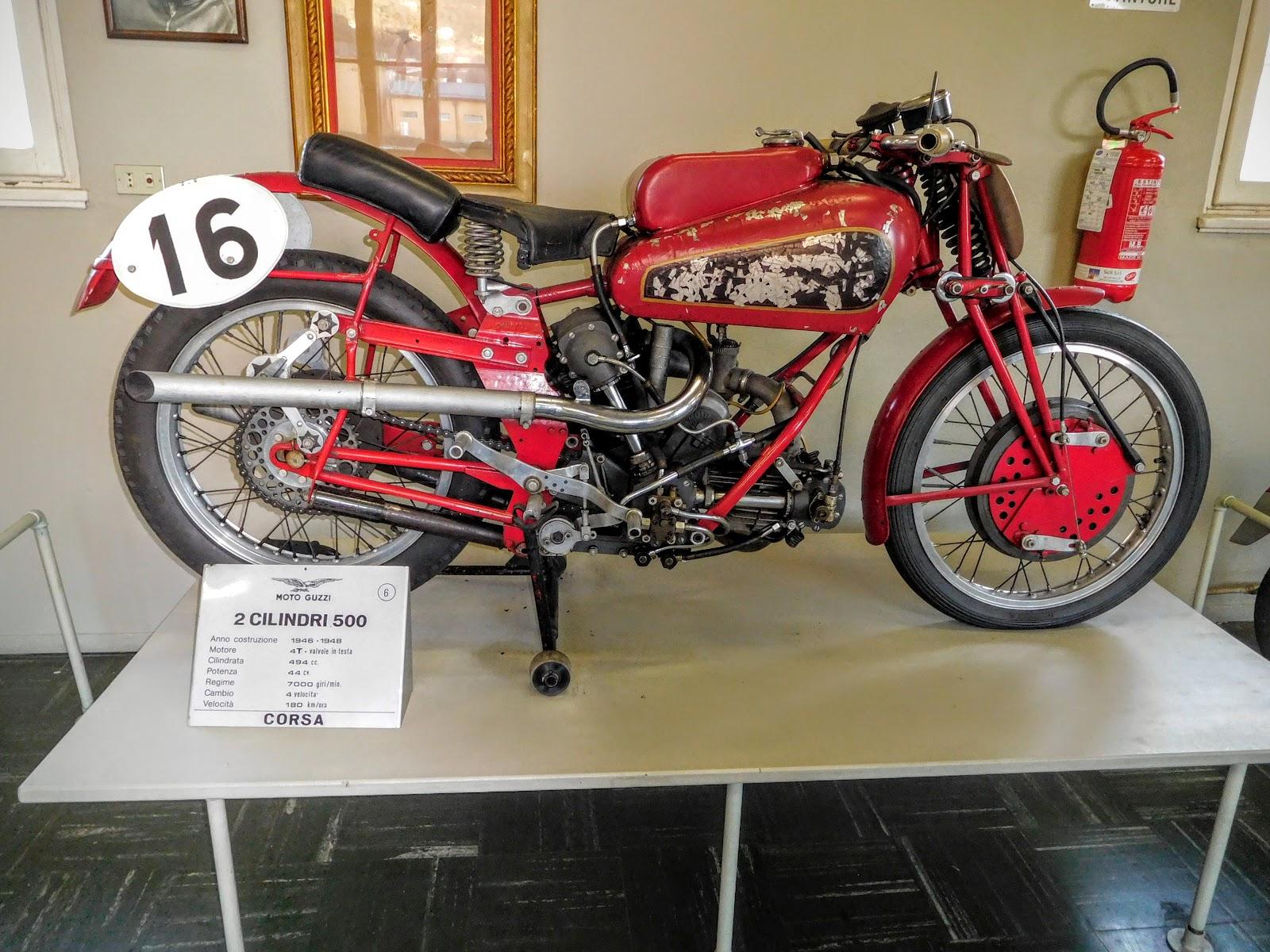 Tigho NYDucati: 1946-48 Moto Guzzi  2 Cilindri 500