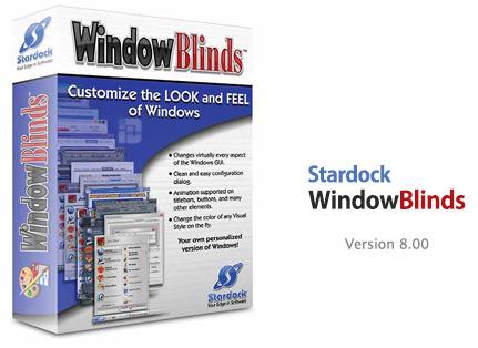 Stardock WindowBlinds v8.00 - Final + Patch