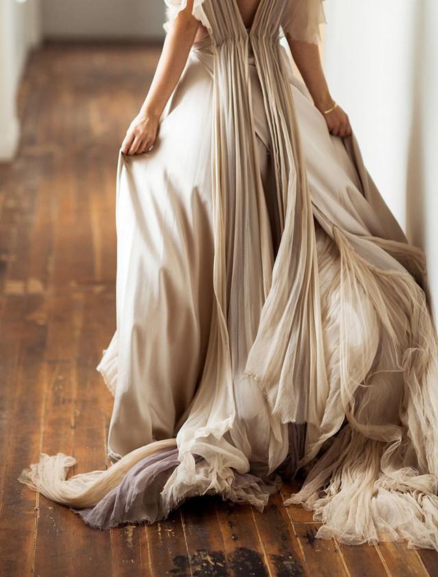 comment bien choisir sa robe de mariée d'automne , Vanessa Lekpa