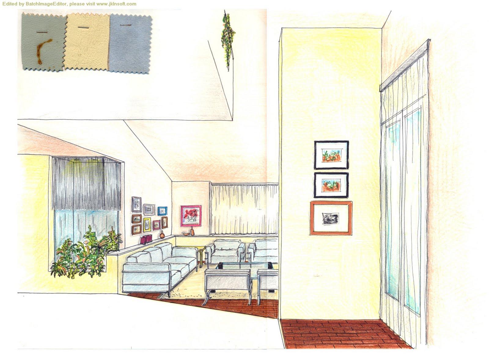 Solo alla luce della luna progetto per la mia casa for Progetto casa interni