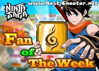 Ninja Saga Fan of The Week
