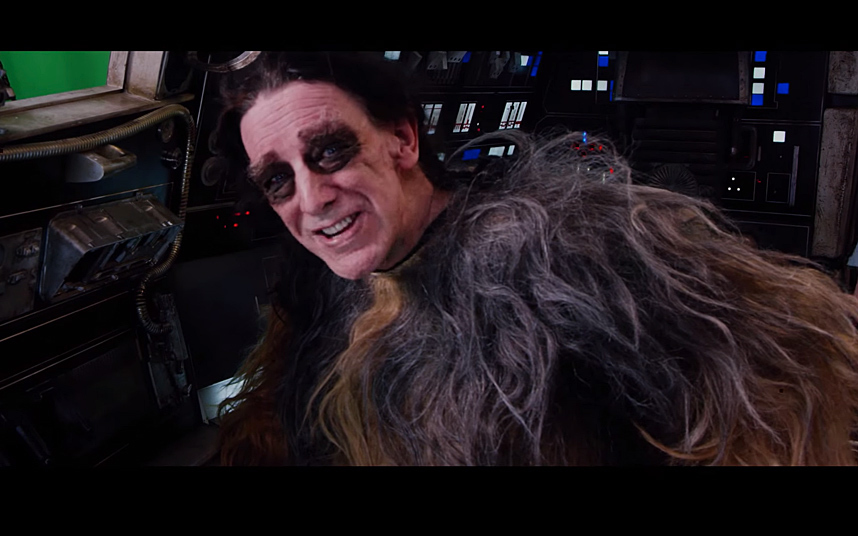 peter mayhew star wars behind the scenes