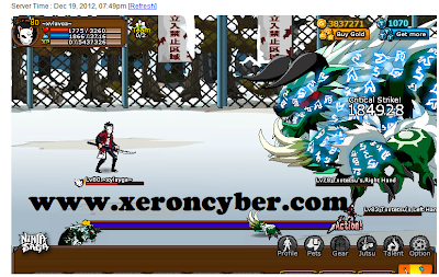 Cheat Christmas 2012 Chapter 2 Ninja Saga [damage hack]