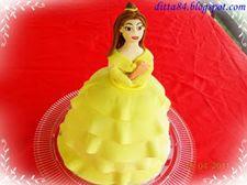 Bell hercegnő torta