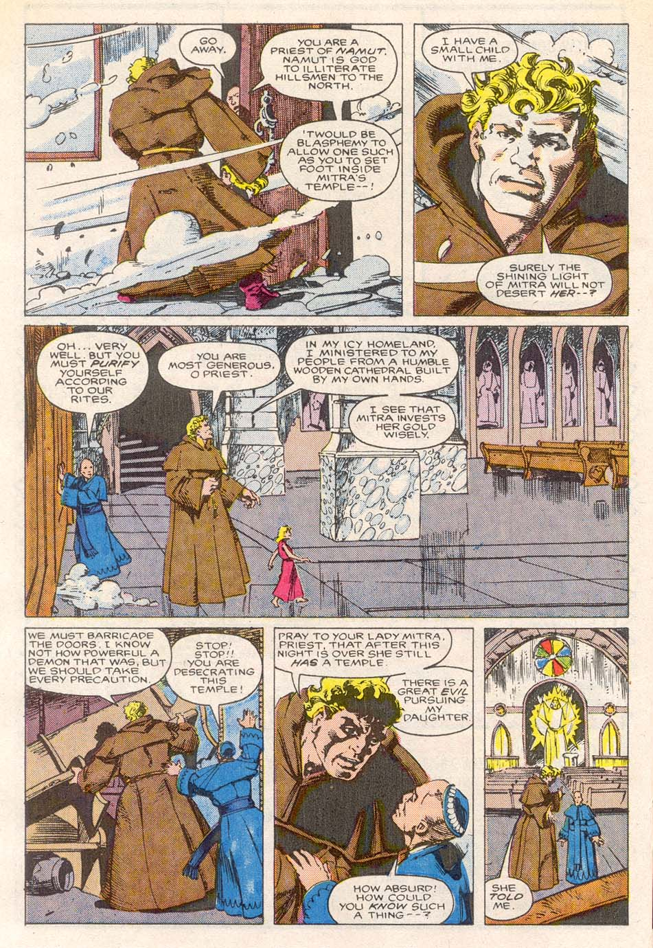 Conan the Barbarian (1970) Issue #193 #205 - English 18