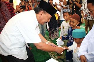 Takmir Masjid Al-Ikhlas Ajak Paslon Pikirkan Anak Yatim
