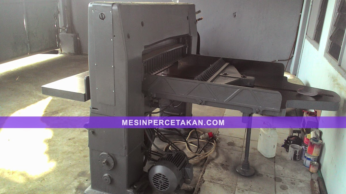 DQ 202 | Used paper cutter machine