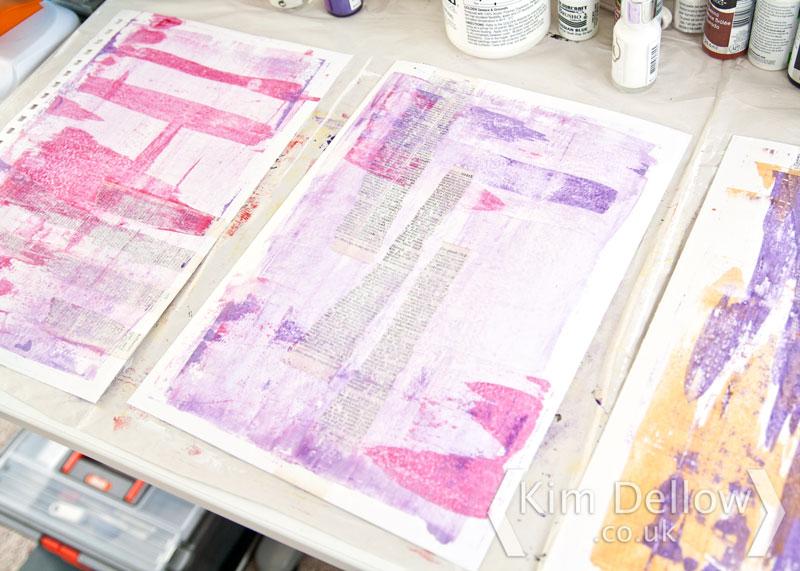 Pigment Izink backgrounds
