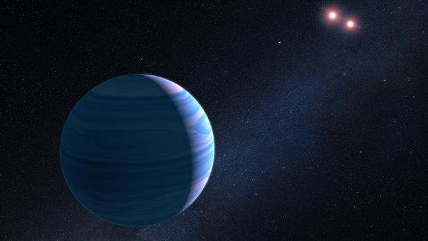 Planeta con dos soles a 8.000 años luz