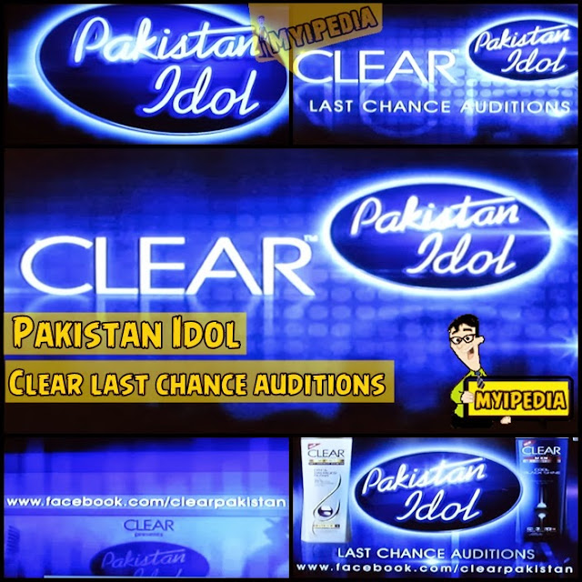 Clear Last Chance auditions for Paksitan Idol