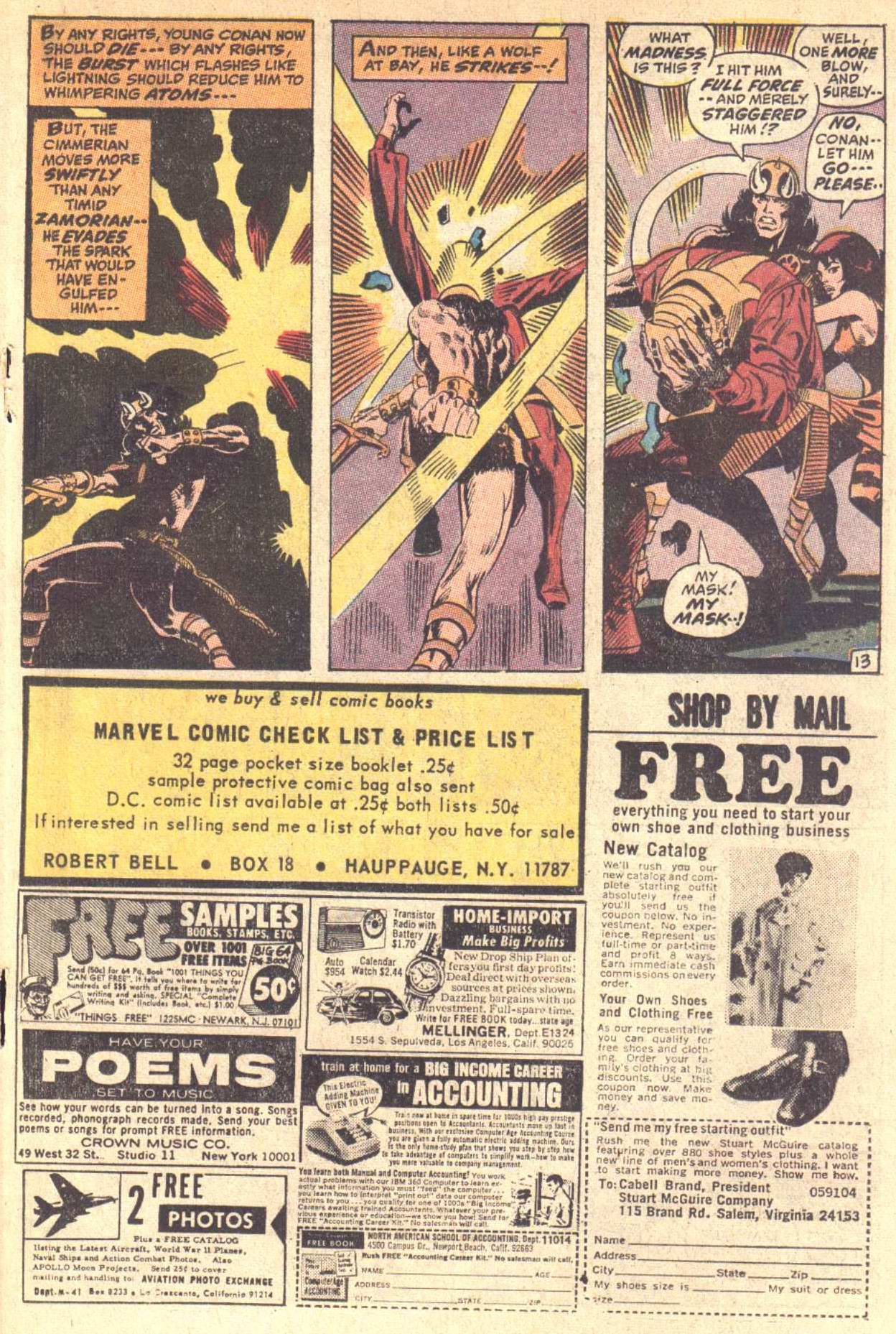 Conan the Barbarian (1970) Issue #5 #17 - English 14