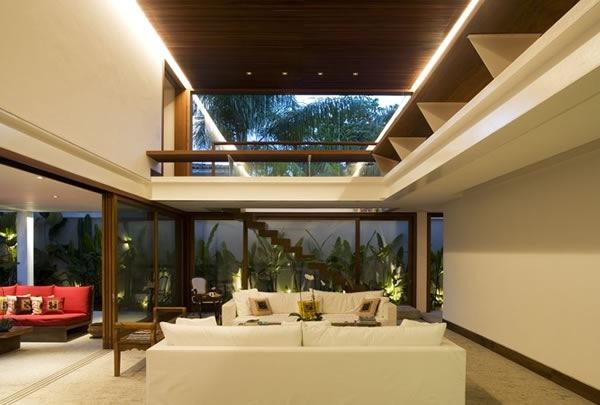 Salas Decoracion Minimalista ~ Salas y estancias minimalistas en blanco