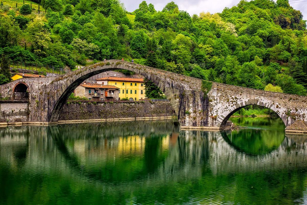 Ponte del Diavolo, Borgo A Mozzano, Lucca