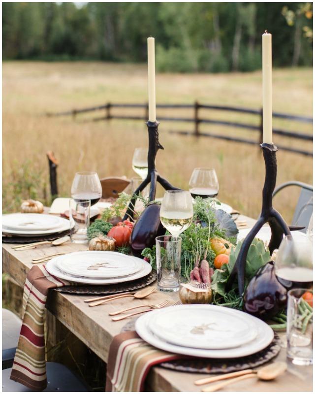 Decoraci n f cil mesa de oto o con verduras y hortalizas for Decoracion con verduras