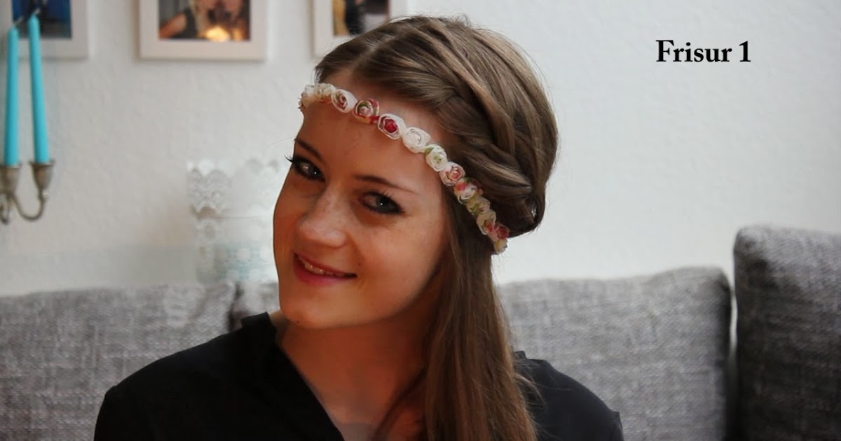 miss pinkpalm video tutorial haarband frisuren oktoberfest frisuren. Black Bedroom Furniture Sets. Home Design Ideas