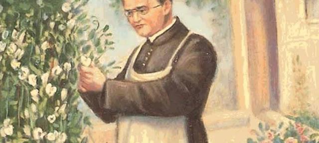 Mendel cultivando flores blancas