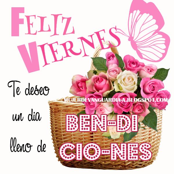 Feliz Viernes lleno de bendiciones | Imágenes con frases