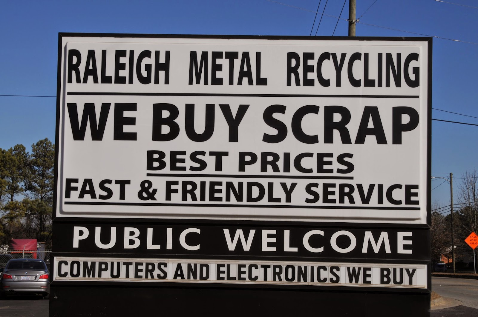 Raleigh NC Scrap Metal-2310 Garner Road, 27610
