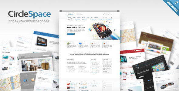 CircleSpace – WordPress Business Theme