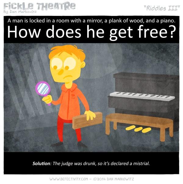 Man locked in room riddle brain teaser