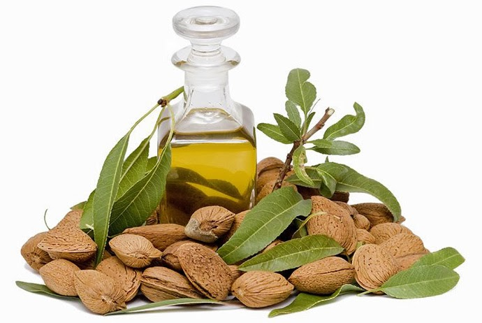 sweet almond oil skincare hair care