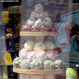 Bolas schneeballen a la venta en Corea del Sur