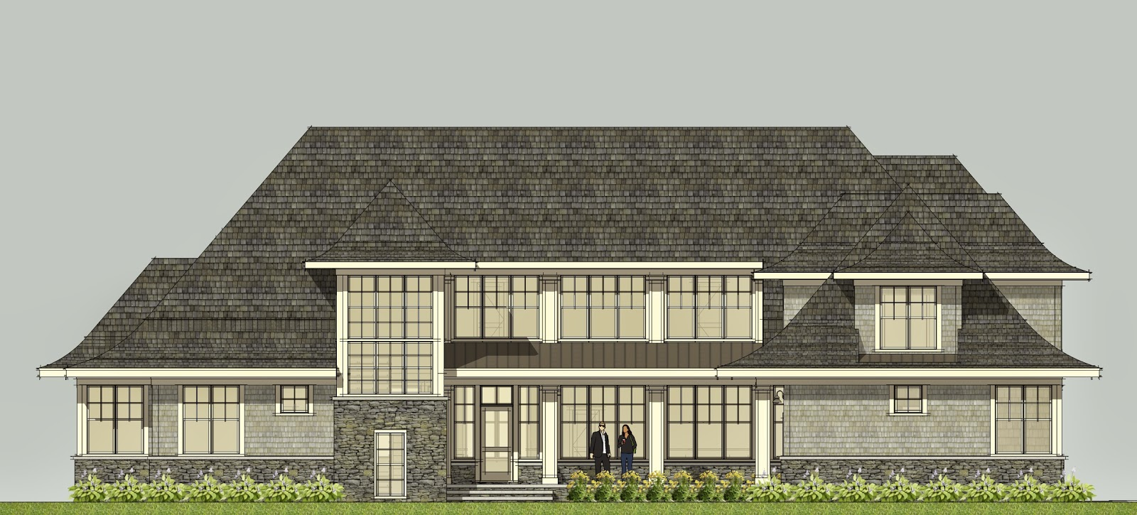 Simply Elegant Home Designs Blog: Home Plans from Big to Modest