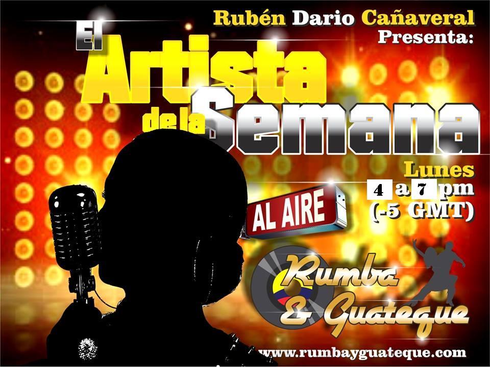 (PODCAST) HISTORICO DE AUDIOS Y PROGRAMAS DEL ARTISTA DE LA SEMANA.