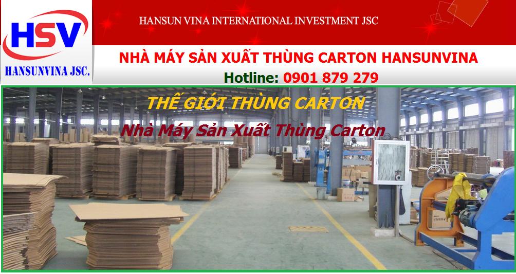 SẢN XUẤT THÙNG CARTON TP HỒ CHÍ MINH- Bao Bì Carton TPHCM, Bình Dương, Long An, Tây Ninh