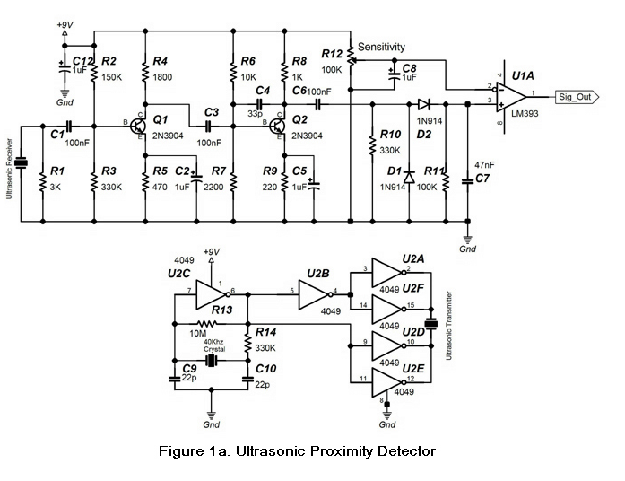 build an ultrasonic proximity detector