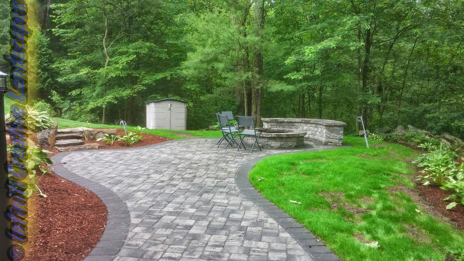 Infiniti properties creative landscape design recent for Creative landscape design