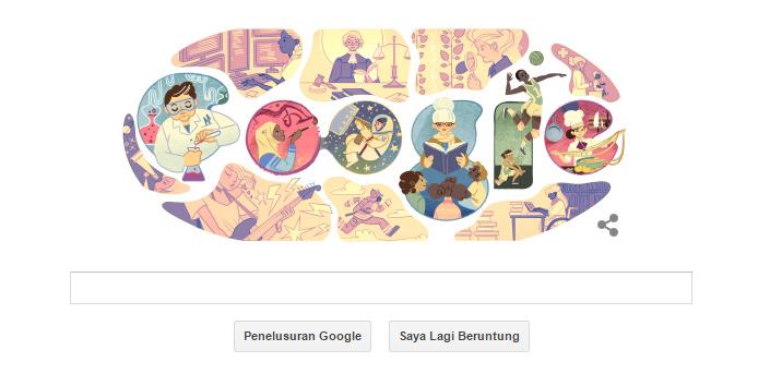 Hari Perempuan Internasional di Google Doodle