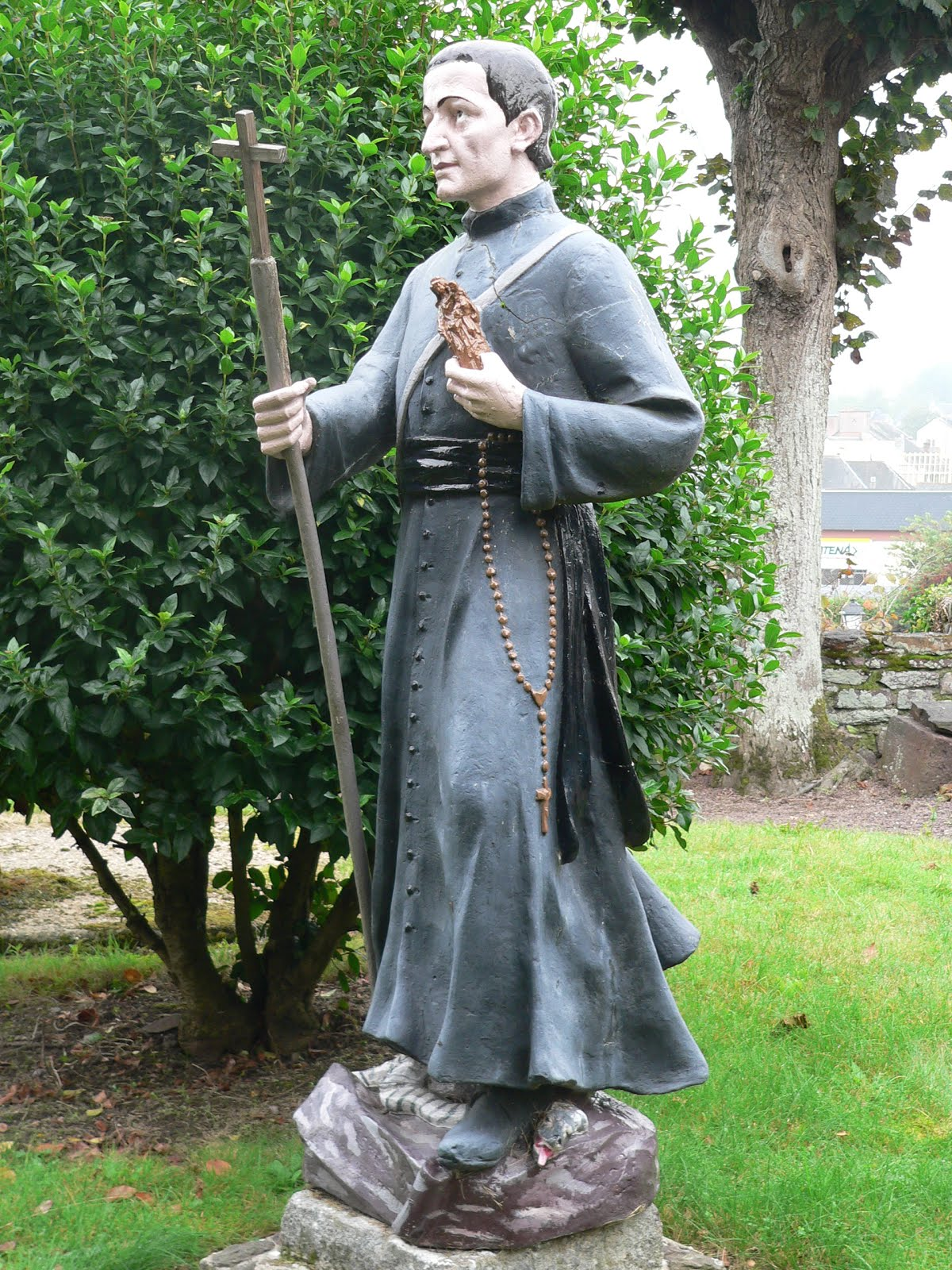 St Louis Marie Grignon de Montfort, pray for us!