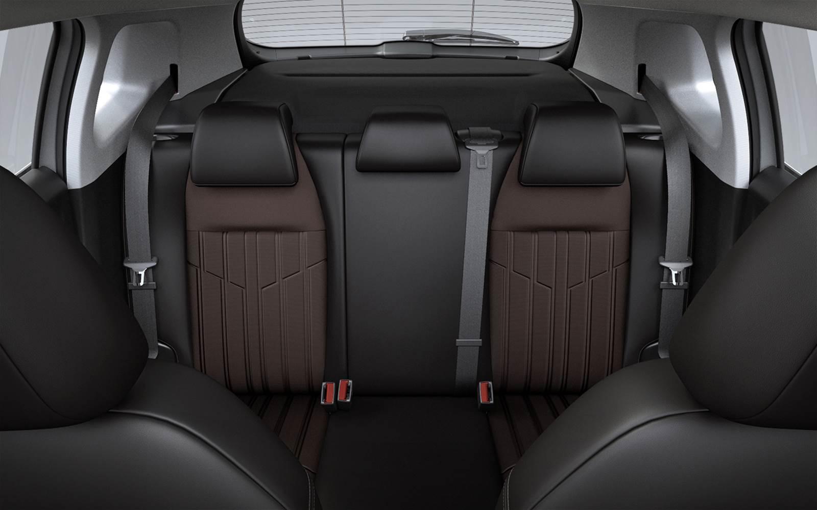 Novo Peugeot 2008 Griffe 1.6 Automático - interior - espaço traseiro
