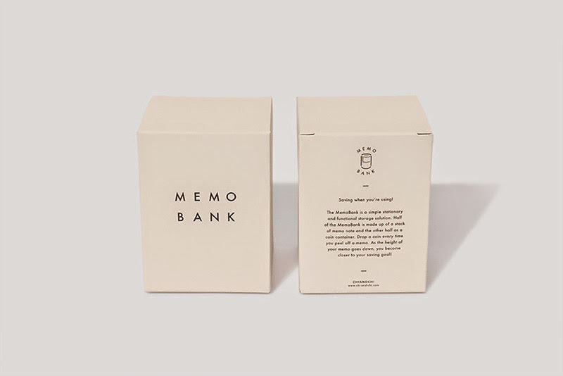Bloc de notas y hucha Memo Bank