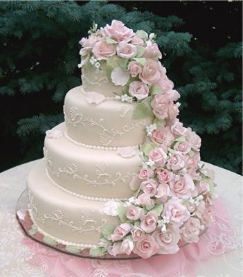 Tortas de bodas ~ Todo Novias