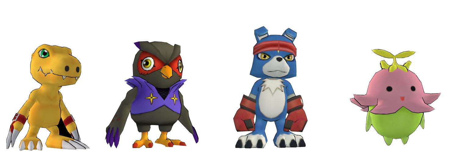 Agumon - Falcomon - Gaomon - Lilimon