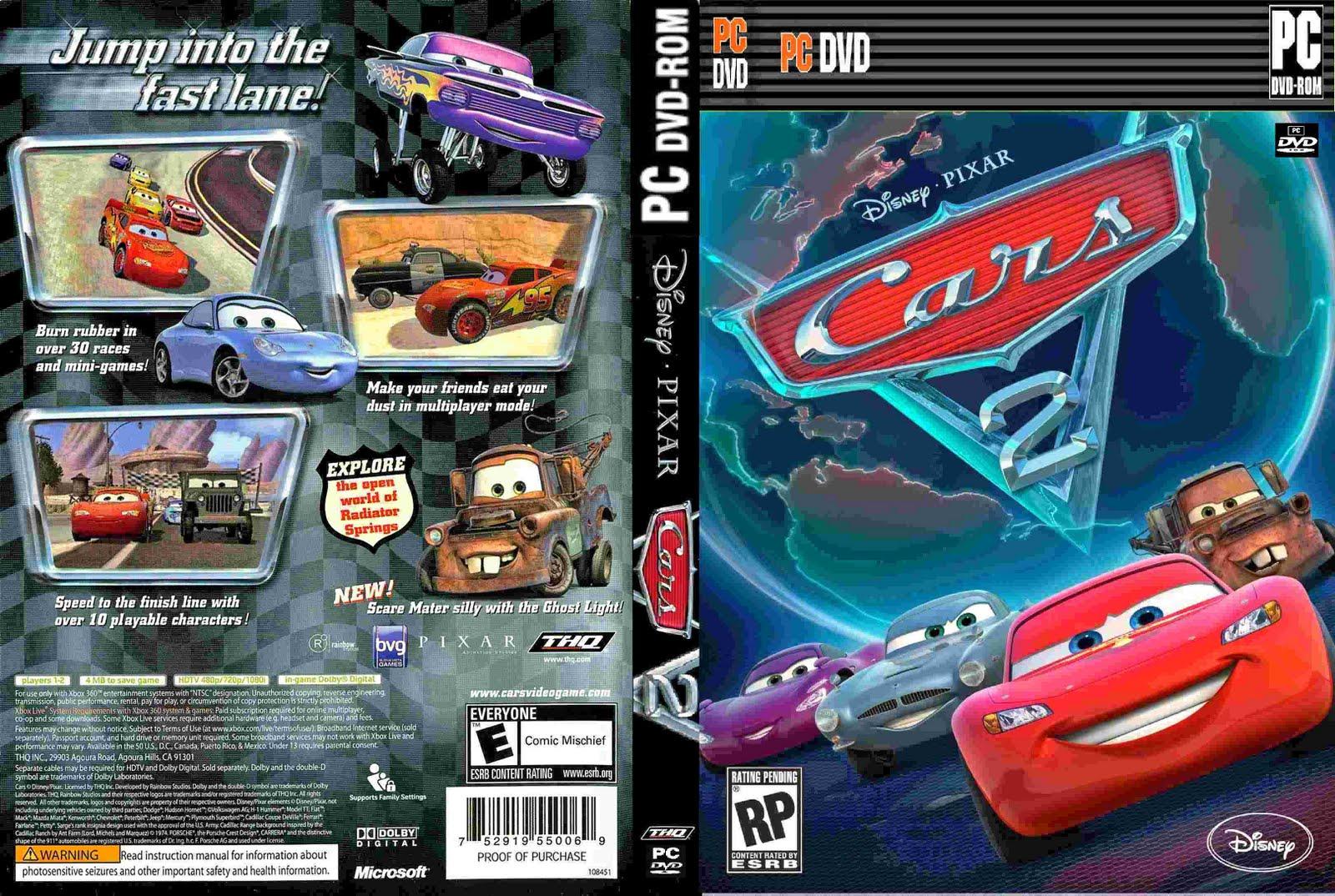descargar juegos de cars 2 para pc
