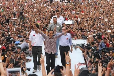 Pesta Pelantikan Jokowi-JK