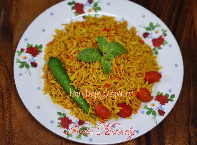 Nasi Mandy Ayam LiNa Pg