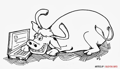 cartoon, carabao