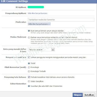 Cara Mengetahui APP ID Facebook