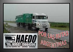 "TRANSPORTE ""HAEDO"""